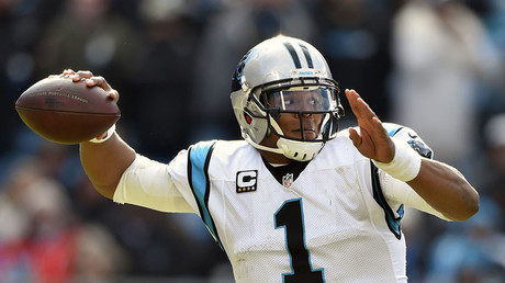 Carolina Panthers quarterback Cam Newton. © Bob Donnan / USA TODAY Sports