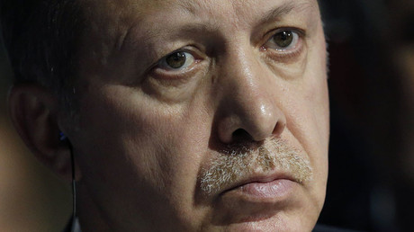 Turkish President Tayyip Erdogan. ©Christian Hartmann