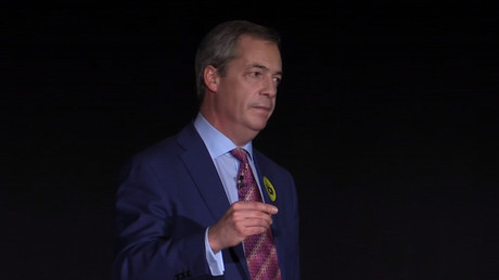 UKIP leader Nigel Farage. © Ruptly