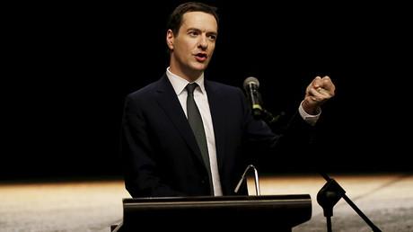 Britain's Chancellor of the Exchequer George Osborne © Jason Lee