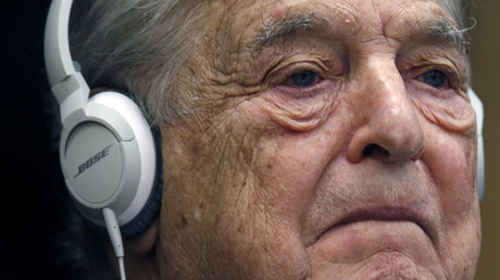 Georges Soros, Chairman of Soros Fund Management. © Charles Platiau