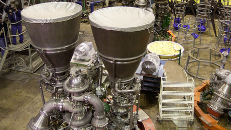 Russian RD-180 rocket engines manufactured at Energomash © Iliya Pitalev