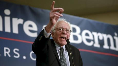 U.S. Democratic presidential candidate and U.S. Senator Bernie Sanders © Katherine Taylor