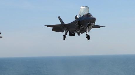A F-35 fighter jet © David Alexander