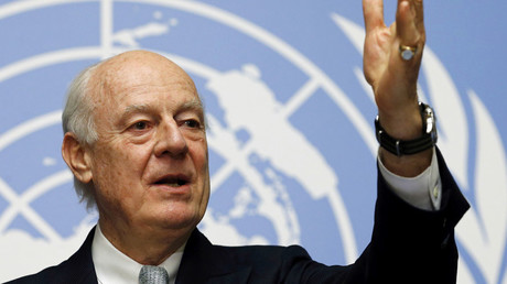 U.N. mediator for Syria Staffan de Mistura © Denis Balibouse