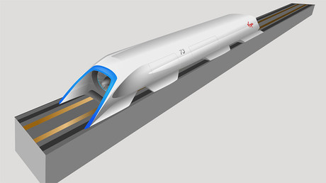 Concept design of Hyperloop. © wikipedia