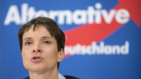 Frauke Petry, party leader of Alternative fuer Deutschland (AfD). © Hannibal Hanschke