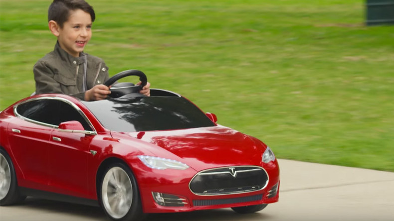 Growing Up Tesla Toy Model S To Hit Playgrounds Rt America