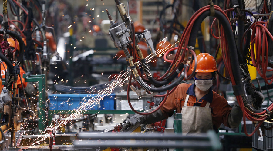 China factories continue to lose steam