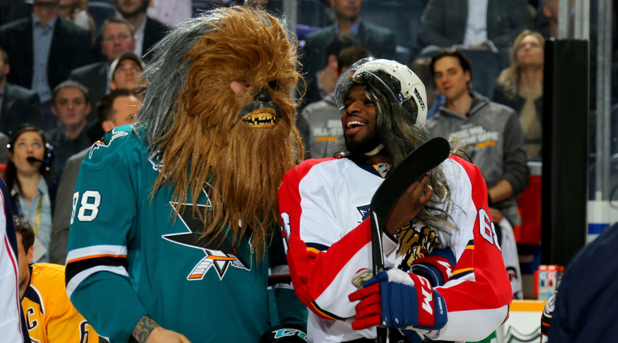 Chewbacca, mullets & John Scott - NHL All-Star game highlights