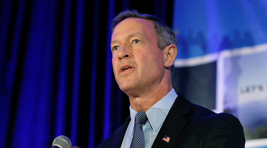 Democratic candidate O'Malley to suspend US presidential campaign – reports