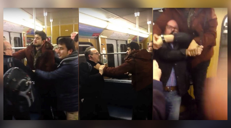 'Migrants' attack elderly Germans trying to protect woman from harassment on Munich train (VIDEO)