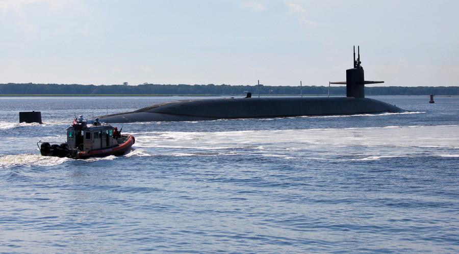 The Ohio-class ballistic-missile submarine. © Reuters