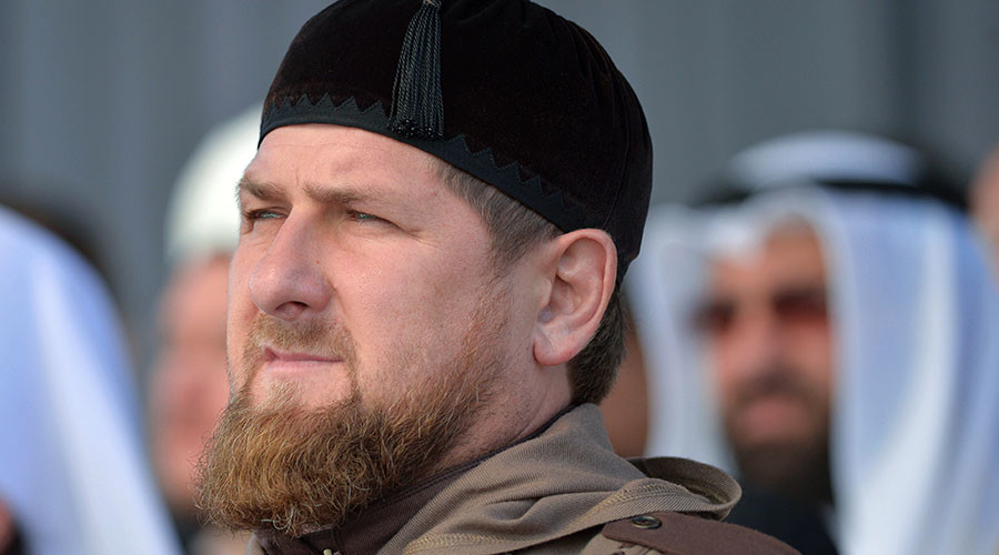 Head of the Chechen Republic Ramzan Kadyrov. © Alexei Druzhinin
