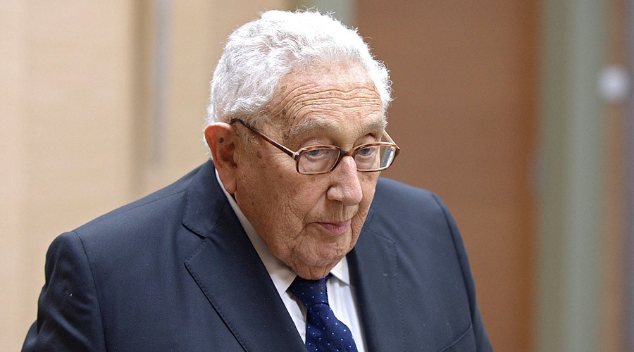 Putin meets 'old friend' Kissinger visiting Russia