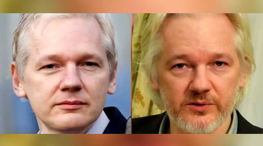 RT time-lapse video of Julian Assange since he was locked inside Ecuadorian embassy
