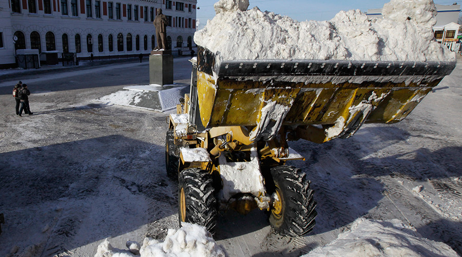 10-year-old girl in coma after being buried in snow by excavator in Russia's Urals