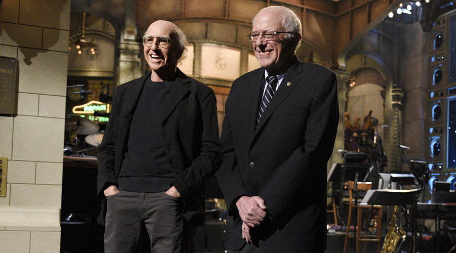 'Bern your enthusiasm': Sanders steals the show on Saturday Night Live