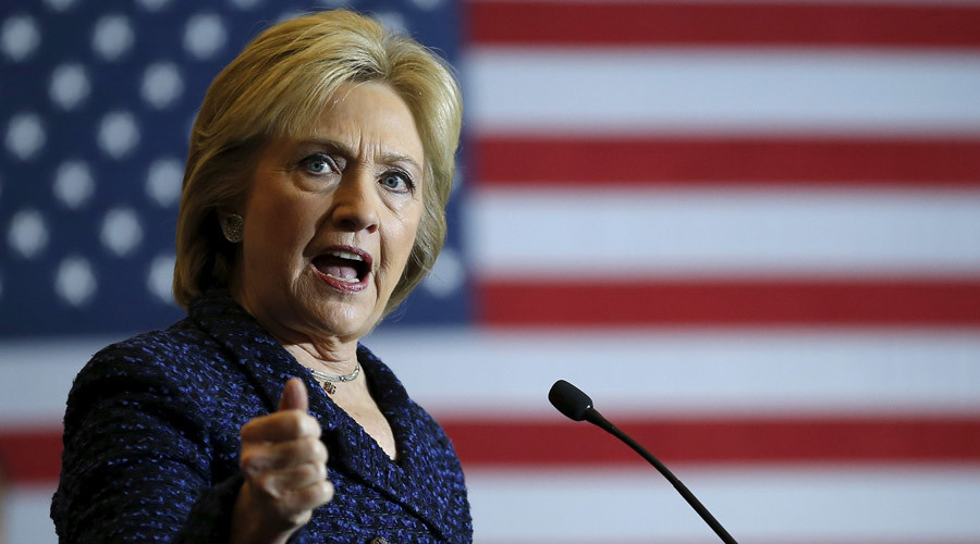 Hillary Clinton out to prove she's got 'more testosterone than the boys'