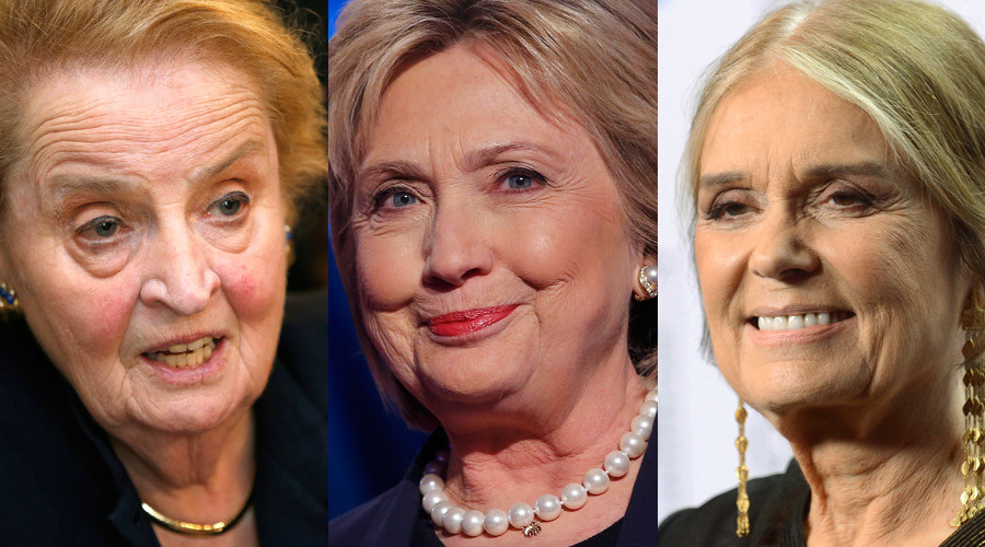 Albright, Steinem slammed for 'shaming' women who don't back Clinton