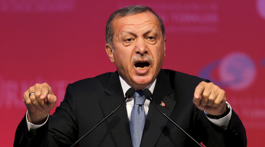 'Me or terrorists?' Furious Erdogan tells US to choose between Turkey and Syrian Kurds