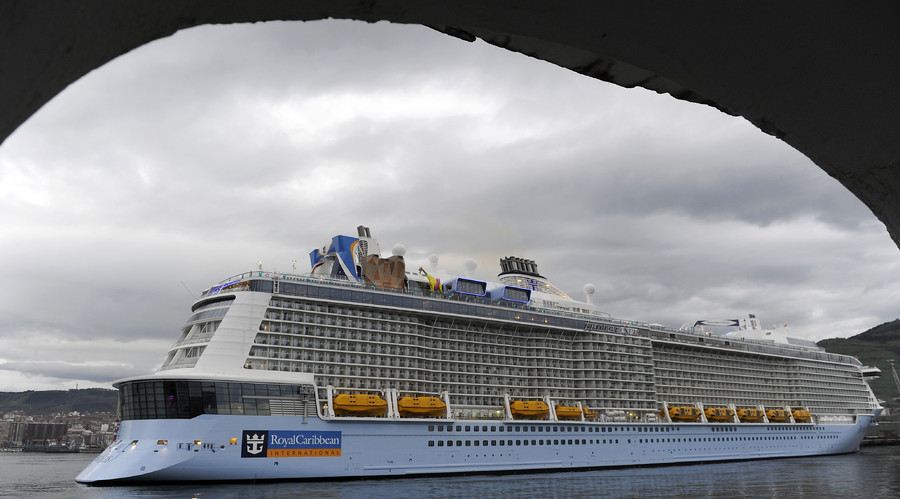 Wild night for storm-battered cruise ship captured on social media