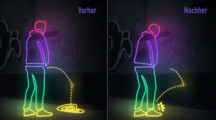 Pee back time! Paris authorities urged to support 'oui' campaign for urine-repelling walls