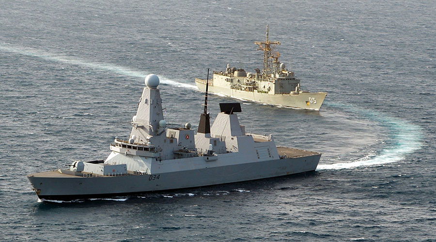 'Focus on Baltic region': UK bolsters anti-Russian NATO taskforce with 5 warships, troops
