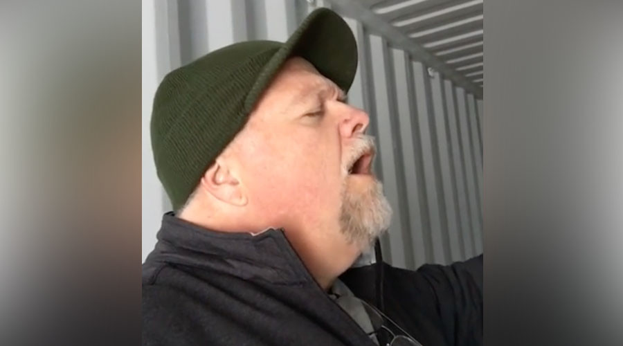 Shipping container sensation: Massachusetts man sings like an angel in storage unit (VIDEO)