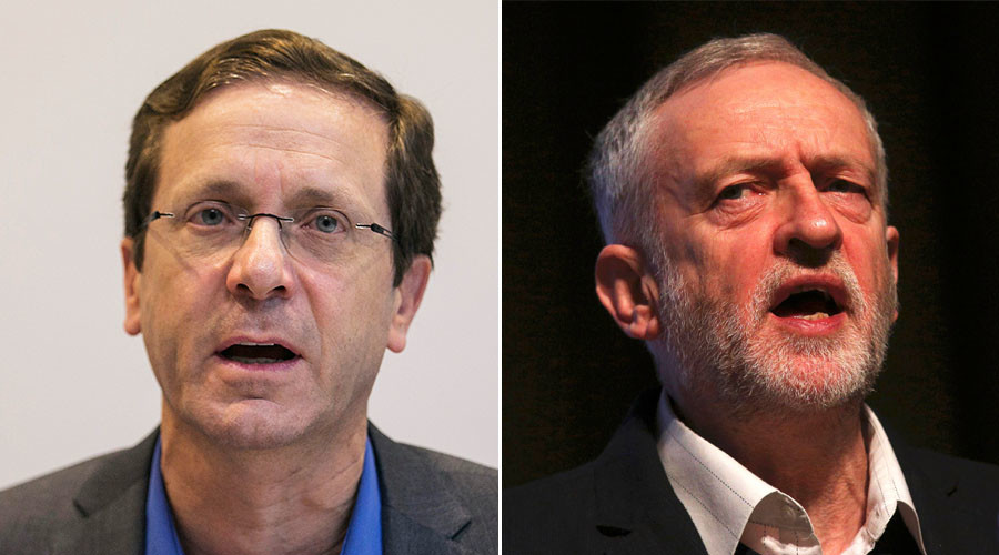 Corbyn 'naive' about Middle East, defense & ISIS – Israeli Labour leader