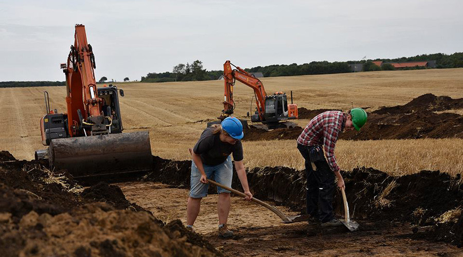 Medieval coins discovered in Danish site for new Apple data center