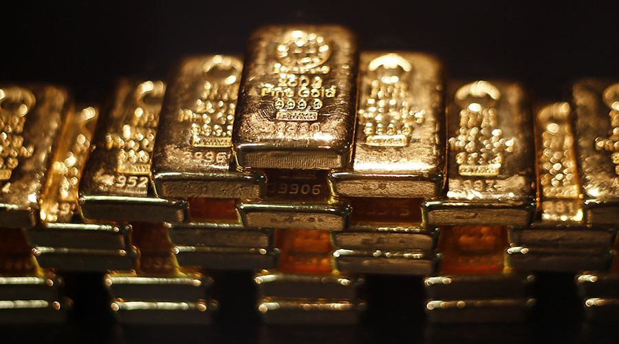 China on massive gold buying spree