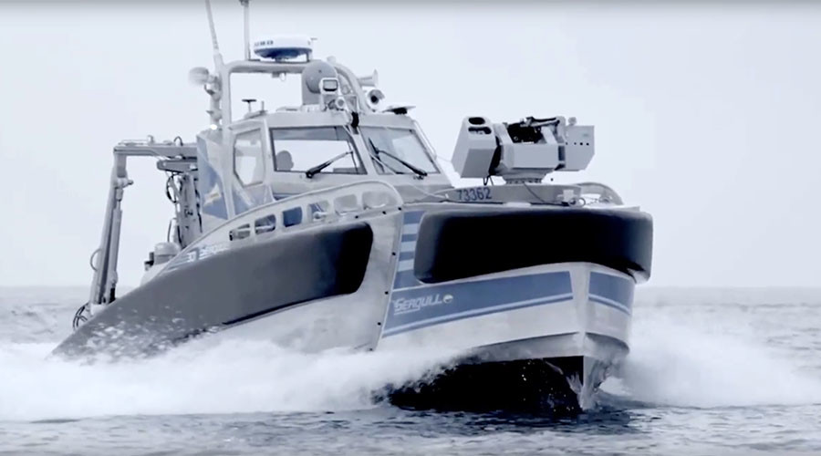 Israel reveals robotic anti-submarine, mine-hunting warship (VIDEO)