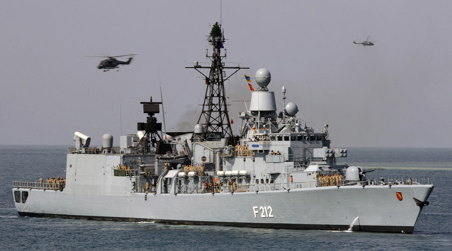 NATO sends warships to Aegean Sea to combat migrant trafficking