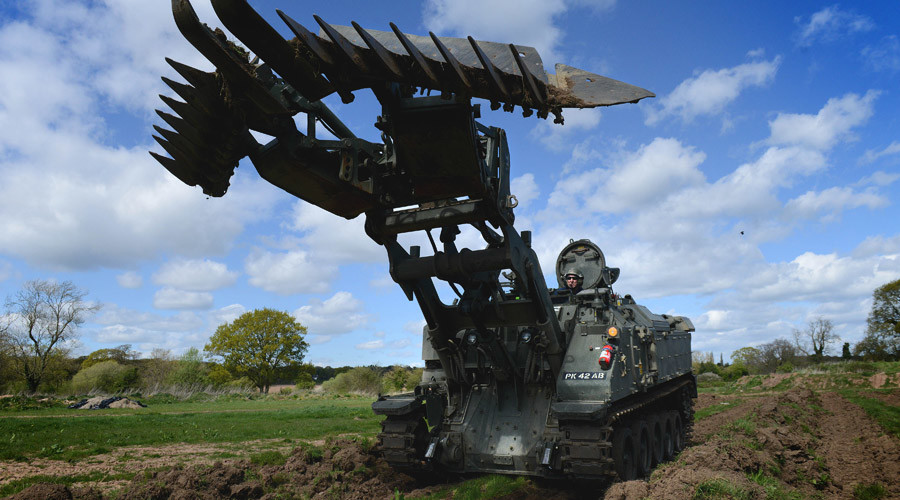 The 'Swiss Army Knife' of combat vehicles? British 'Terrier' tank revealed (VIDEO)