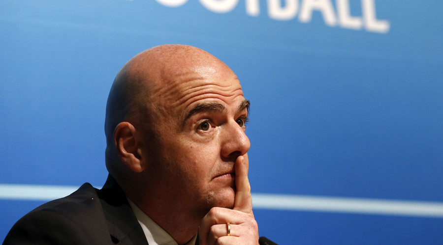 UEFA General Secretary Gianni Infantino. © IIayk48rus