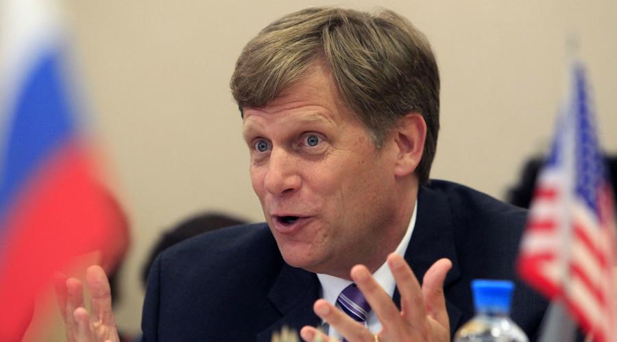 U.S. Ambassador to Russia Michael McFaul. © Sergei Karpukhin