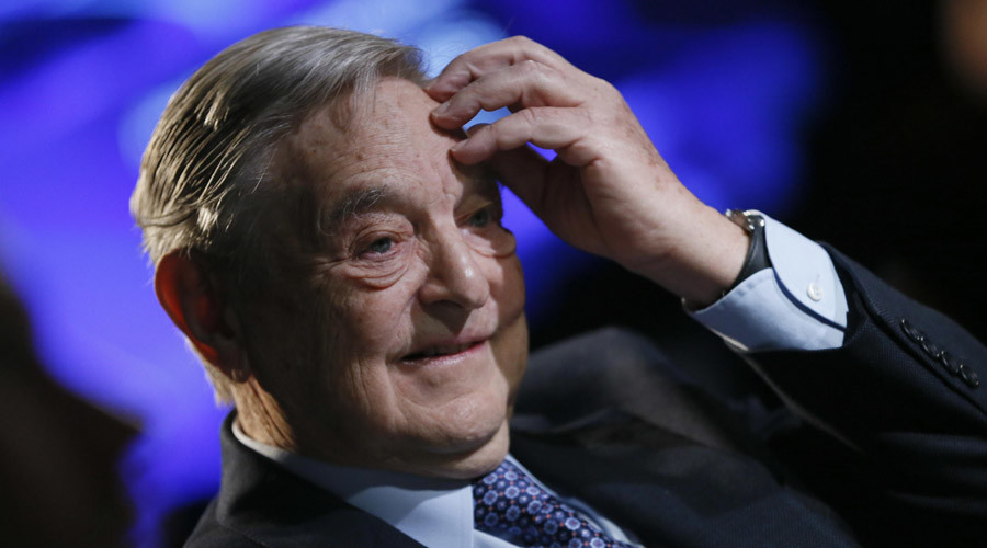 Soros previously donated $7 billion to a pro-Hillary Clinton PAC. © Pascal Lauener