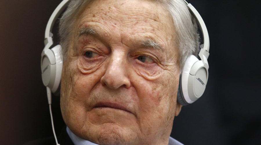 Georges Soros, Chairman of Soros Fund Management © Charles Platiau