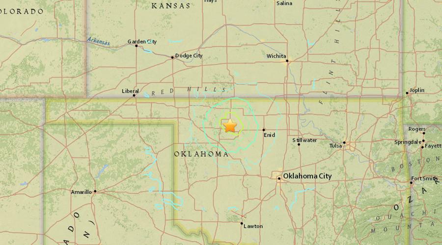 Significant 5.1-magnitude earthquake strikes Oklahoma - USGS