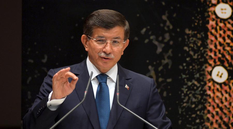 Turkish Prime Minister Ahmet Davutoglu. © Str.