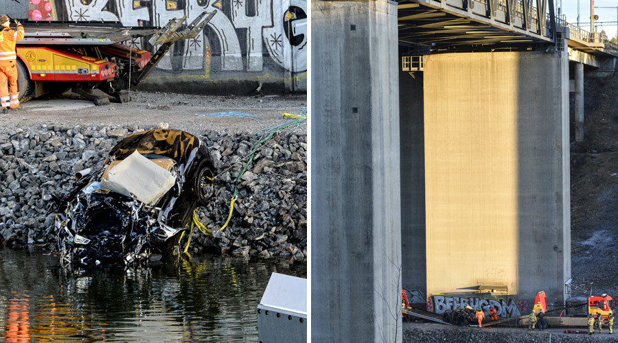 Lost youth: UK band & manager die after car plunges 26 meters into canal