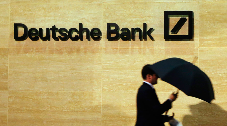 Keiser: Deutsche Bank 'technically insolvent', running a 'ponzi scheme'
