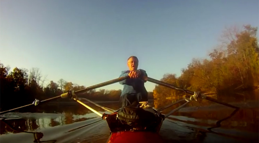 Dream life: Row, row, your boat to work, gently down the river (VIDEO)