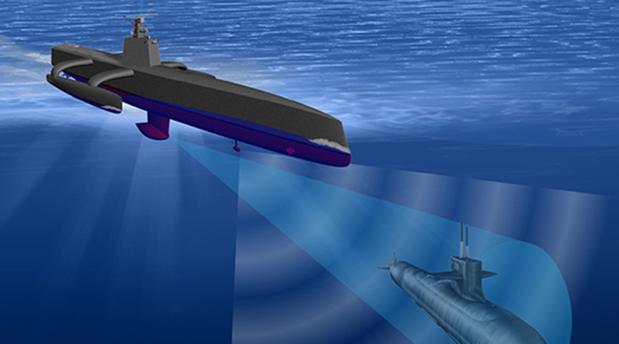 DARPA's anti-submarine drone ready to sail in April (VIDEO)