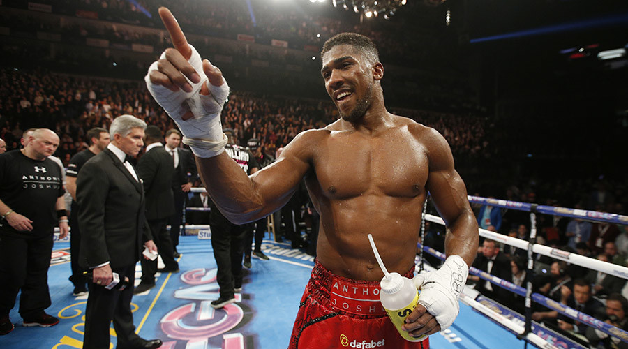 Anthony Joshua © Andrew Couldridge