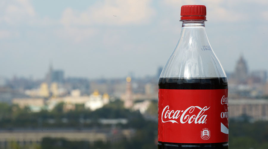Ban Coca-Cola over missing Crimea on Russian map, says leftist MP