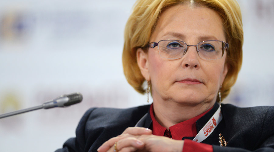 Russian Healthcare Minister Veronika Skvortsova © Mikhail Voskresenskiy