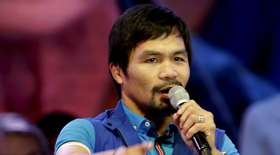 Pacquiao apologizes for gay slur