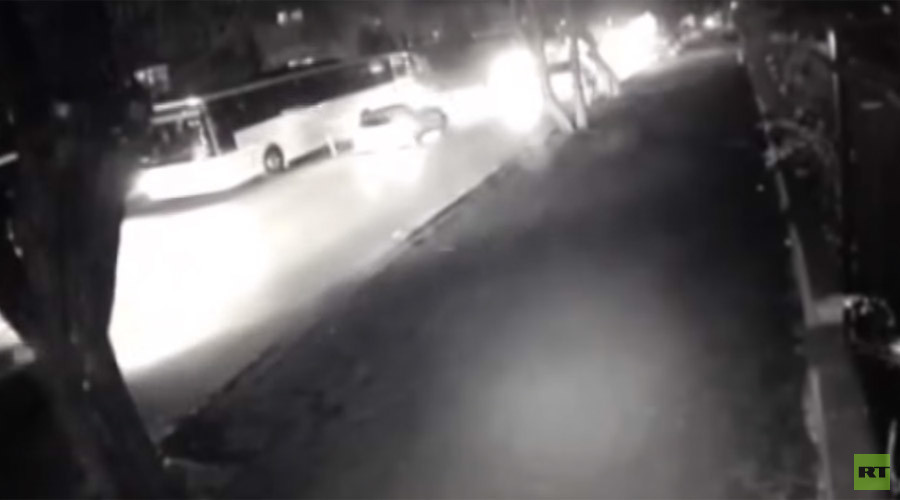 Moment of deadly Ankara blast caught on CCTV (VIDEO)